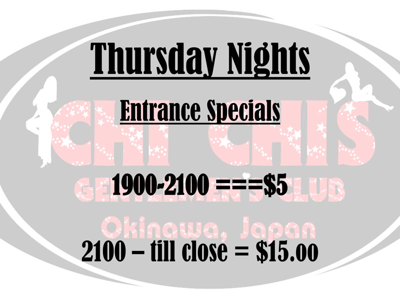 Thursday Night Specials